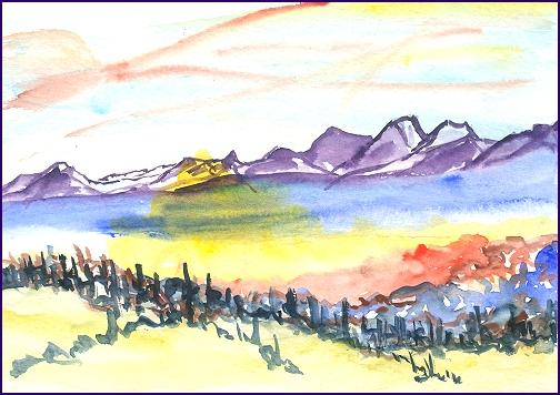 Langtan Range