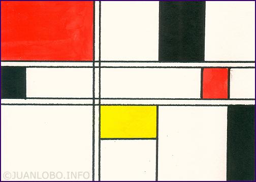 Grüße von Mondrian