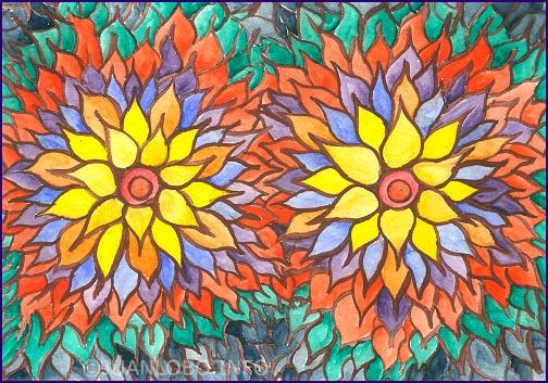Nepalesische Blüte mit erotischer Note
